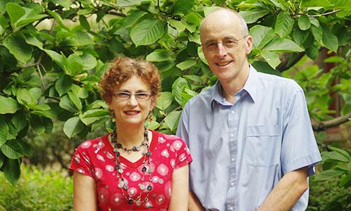 Professor Ian Gordon and Dr Sue Finch